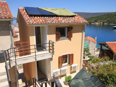 Photo for One bedroom apartment with balcony and sea view Valun, Cres (A-8086-c)
