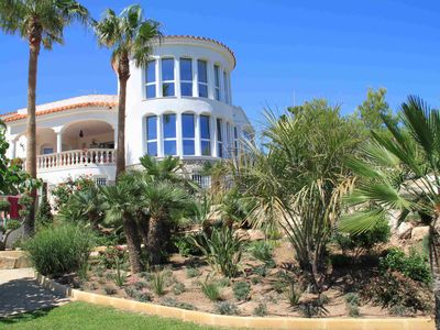 Photo for Magnificent villa in ametlla de mar - First Line Beach