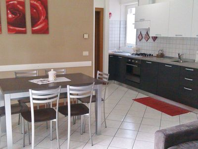 Photo for Masetto: quiet, near lake with wifi, lift, parking, garage