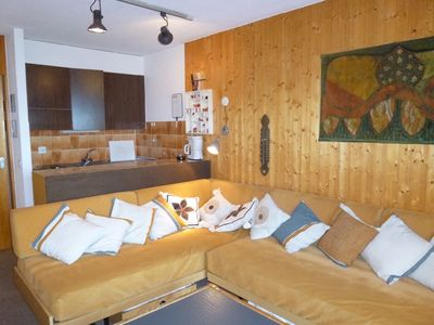 Photo for 2* Studio for 2-4 people in the center of the resort at about 700m from the ski lift and just below
