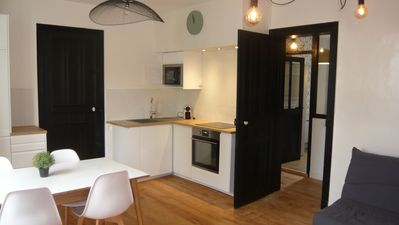 Photo for Superb apartment T3 completely renovated Scandinavian type very well placed