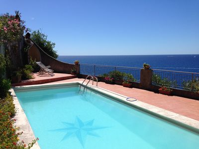 Photo for Beautiful apartment with panoramic terrace with swimming pool for exclusive use