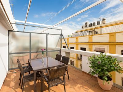 Photo for San Vicente Terrace. 2 bedrooms, 2 bathrooms, terrace, free parking