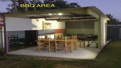 New 2 bedroom flat with veranda and shared BBq area