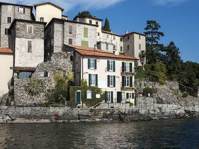 Photo for Villa Dinamia: A characteristic and welcoming three-story villa located right on the Como Lake, with Free WI-FI.