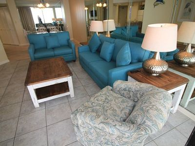 Photo for Gulf Side Rental With Amenities At Great Rates, 3 BR/ 2 Bath, Sugar Sands WC 1103