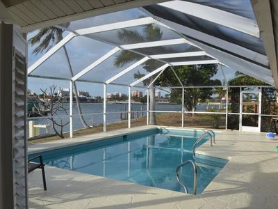 Photo for 4 BR, 2.5 BA Remodeled Luxury Waterfront Home, Pool & Dock!