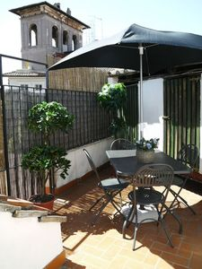 Photo for Attico Coronari 1, few steps from Piazza Navona, luminous, small terrace, all comforts, free-wi-fi