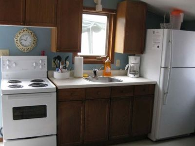 Photo for Great comfortable 1 bedroom cottage with loft for rent