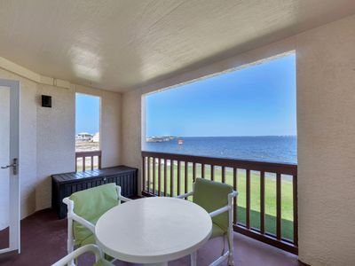 Photo for Quiet Water View Condo!