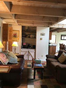 Photo for 10% off Sept/Oct; 2 mi from WISP/lake, hot tub, wood burning stove, luv dogs