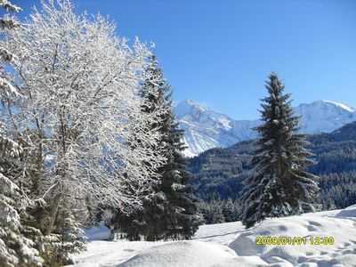 Photo for A breathtaking view of Mont Blanc. Promotion for the next weeks.
