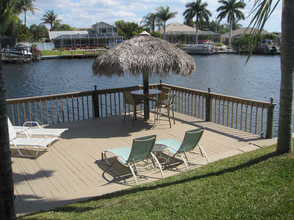 Luxury Waterfront Villa In Cape Coral S Historic Rose