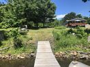 View of property from the fishing dock