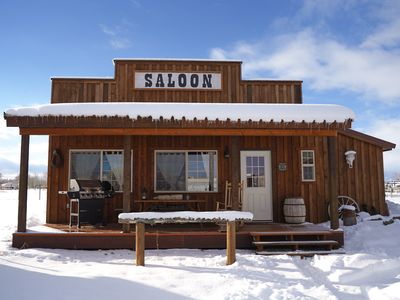 Photo for Western Saloon with Teton Views!