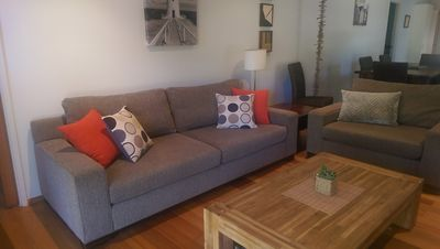 Photo for Surf Parade Beach House -Pet Friendly -Opposite Beach