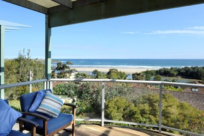 Seven Mile Beach and beautiful ocean views from the deck