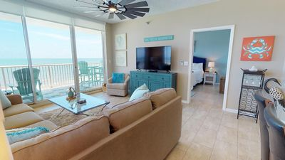 Picture yourself on the Wrap Around Balcony with Idyllic Gulf Views! Doral 1001
