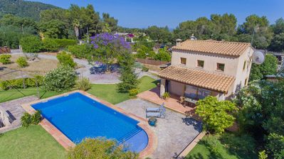 Photo for Villa Crestaix: Large Private Pool, A/C, WiFi