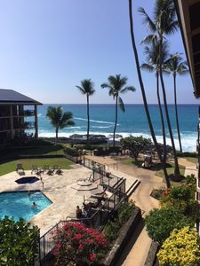 Your view from your top floor Lanai