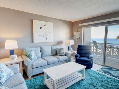 Photo for Gorgeous Views Condo w/Balcony, Pool, Tennis, Private Beach Access, & More!