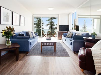 Photo for Sun drenched ocean view apartment