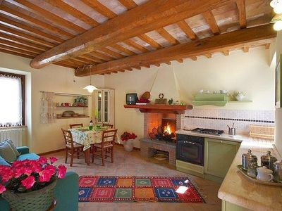 Photo for Country house in the center of Bagnoregio with Internet, Pool, Air conditioning, Washing machine (371338)