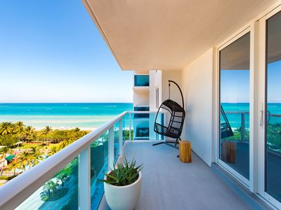 Photo for **Beautiful-Oceanview - 5* South Beach-Spacious 1BR-1.5 Bath- Resort Residence**