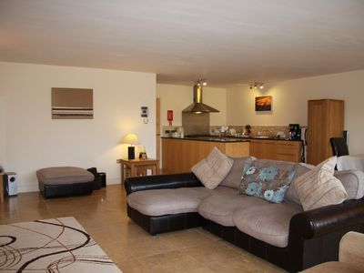 Photo for Luxury Spacious Ground Floor Apartment, near Fistral Beach, Newquay Cornwall
