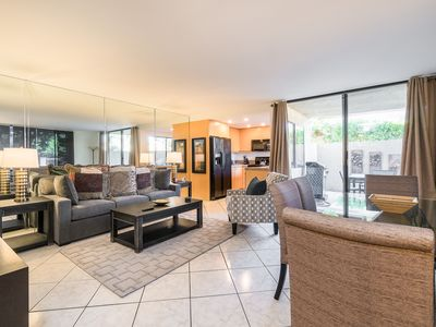Photo for 1 BR Condo w/ All-New Furnishings, Pool, Hot Tub, Private Patio & Balcony