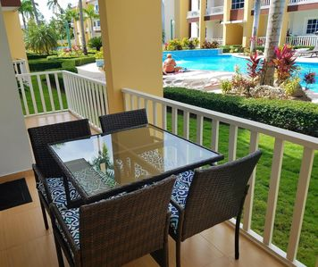 Photo for Affordable Beautiful Caribbean Condo Short Walk to Beach!