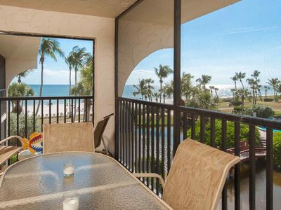 Photo for NEWLY REMODELED -  Gulf Front, Just steps to the Beach! Enjoy Beach Chairs, Umbrella, Toys & More!