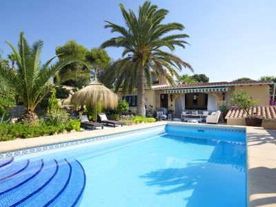 Photo for This 4-bedroom villa for up to 6 guests is located in Calpe and has a private swimming pool, air-con