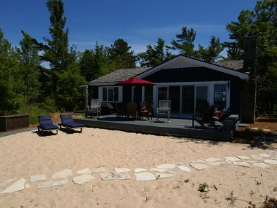 Photo for Lake Michigan Beach House with Air Conditioning-Sleeping Bear Bay in Glen Arbor