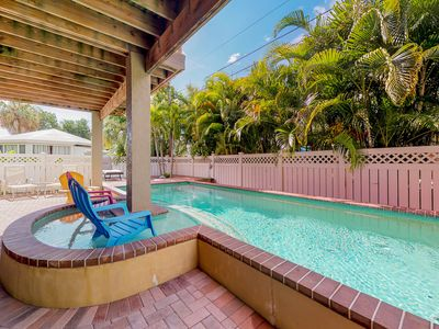 Photo for NEW LISTING! Spacious home with private pool, and gas grill.
