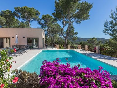 Photo for Catalunya Casas: Villa Talaia for 8 guests, just 1.8km to the beaches of Ibiza!
