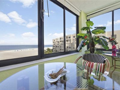 Photo for Sandarac A703, Gulf Front 2 Bedrooms, Elevator, Heated Pool, Sleeps 6