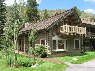 Photo for Mountain Log Home overlooking Gore Creek