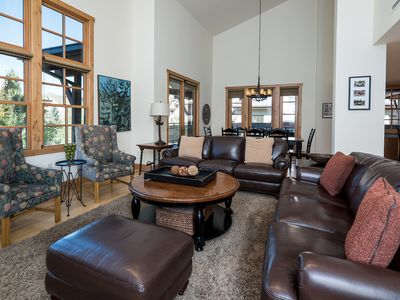 Photo for Modern penthouse with Bald Mountain views and hot tub access, located in the heart of Elkhorn