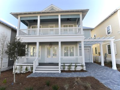 Photo for Stunning Brand New 4 BR, 4.5BA custom home close to beach and dining. Sleeps