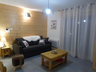 Photo for Charming apartment on the ground floor departure back ski residence beautiful residence