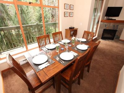 Photo for Spacious 2- Level, 2- Bedroom Townhouse In Whistler Village North