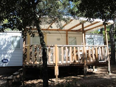 Photo for Camping Le Pinada *** - Mobilhome for 5 People