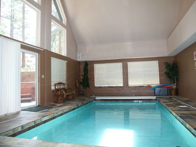Photo for Cold Creek Luxury Lodge with Indoor Pool/more/discount open dates June/July