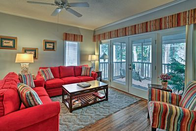 North Myrtle Beach awaits at this 2-bedroom, 2-bathroom vacation rental condo.
