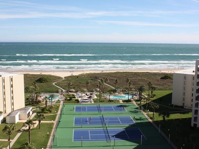 Photo for 12th Floor Penthouse Beachfront, Large Balcony, Amazing Views, 3 Pools, Tennis
