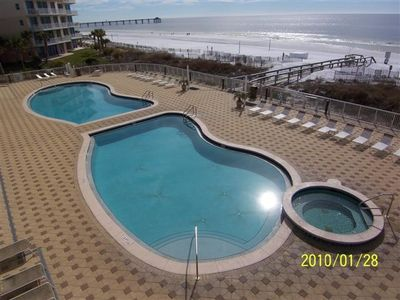 Photo for FT Walton Beachfront Condo 3 bedrooms/2 bath Free Beach Service