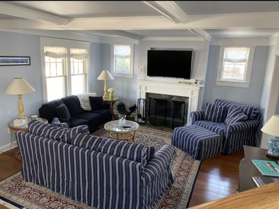 Photo for Beach block with private driveway.  Walk to everything historic Cape May offers!