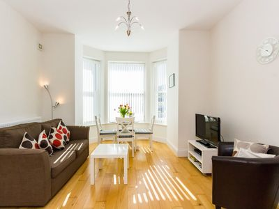 Photo for Luxury modern one bedroom ground floor apartment, Ventnor, Isle of Wight