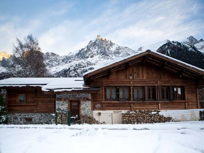 Photo for Beautiful 4-bedroom chalet with sauna, hot tub and private garden